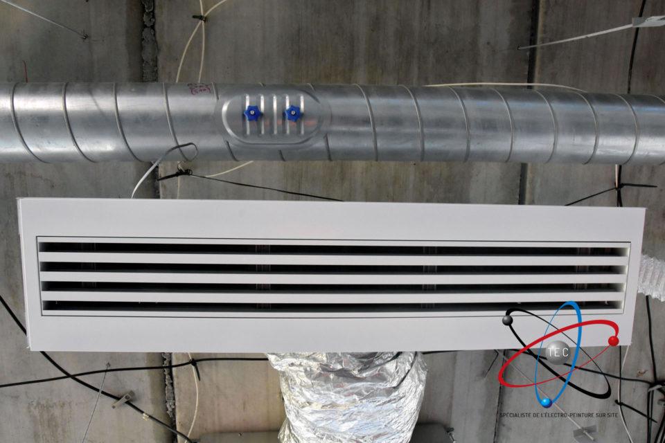 Photo projet perisud par TEC - remise en peinture électrostatique
